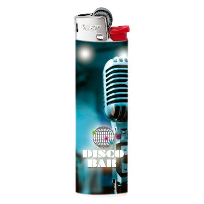 BIC J23 aansteker midi full color wrap